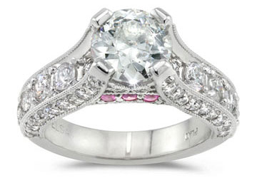 custom diamond engagement rings cads