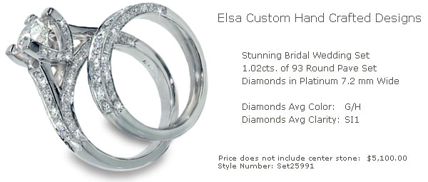 Custom Rings and Designs by Elsa - Engagement Rings, Wedding Rings, Diamond Rings, Military Police Rings - Custom Designed Jewelry